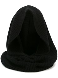 Unconditional Ribbed Snood Black