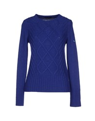 Harmont And Blaine Sweaters Blue