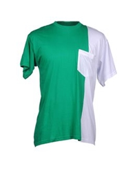 Amaranto Short Sleeve T Shirts Green