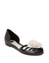 Melissa Move Jelly Flats Black