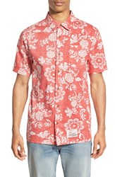 Men's Vans 'Duke Aloha' Regular Fit Short Sleeve Print Woven Shirt