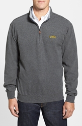 Peter Millar 'Louisiana State University' Melange Fleece Charcoal