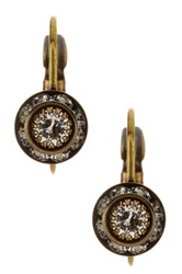 Liz Palacios Small Rondelle Leverback Earrings No Color