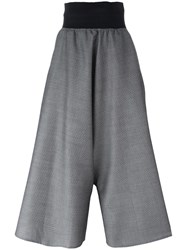 Bless High Waisted Palazzo Pants Grey