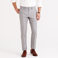 J.Crew Bowery Slim Pant In Heather Cotton Twill