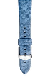 Women's Michele 18Mm Leather Watch Band