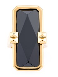 Altruis By Vinaya Designer Wearable Technology Gold Ring Silver Yellow Black White Stone