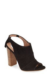 Women's Halogen 'Willow' Sandal Black Suede