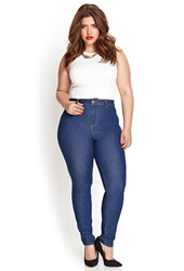Forever 21 High Waisted Skinny Jeans Regular Denim