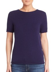 Theory Tolleree Cashmere Tee Sea Blue