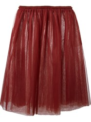 Golden Goose Deluxe Brand 'Violet' Skirt Red