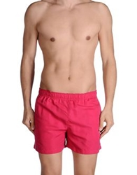 Just Cavalli Beachwear Swimming Trunks Fuchsia
