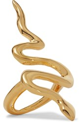 Kenneth Jay Lane Gold Plated Ring