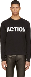 Blk Dnm Black 'Action' Sweatshirt