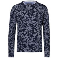 Tommy Hilfiger Floral Print Sweater Navy