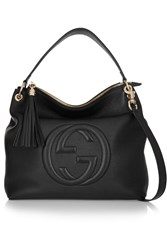 Gucci Soho Hobo Textured Leather Shoulder Bag