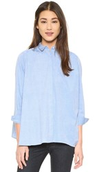 Intropia Cam Shirt Light Blue