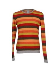 Massimo Rebecchi Sweaters Orange