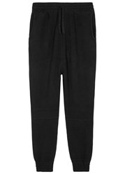 Blood Brother Ore Oversized Knitted Jogging Trousers Black