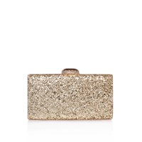 Carvela Gigi Clutch Bag Gold
