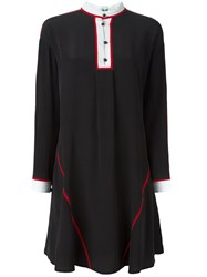 Kenzo Flared Shirt Dress Black