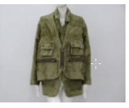 Helen Yarmak Reversible Dyed Green Lamb Jacket With Vest. Hy Exclusive 100 Silk Lining. Fur Origin China