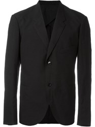 Christophe Lemaire Lemaire Single Breasted Blazer Black