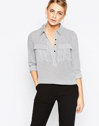 Oasis Vertical Stripe Shirt Multi