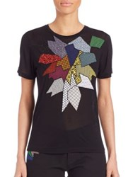 Christopher Kane Patchwork Tee Black
