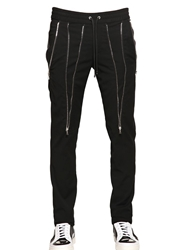 John Richmond Viscose And Wool Jogging Pants Black
