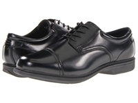 Nunn Bush Beale St. Cap Toe Oxford Black Men's Lace Up Cap Toe Shoes