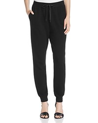 Alexander Wang T By Soft French Terry Sweatpants Black