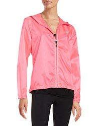 New Balance Packable Hooded Jacket Pink