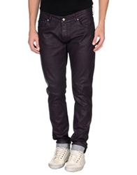 Paolo Pecora Denim Pants Deep Purple