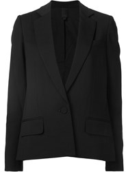 Vera Wang Pleated Rear Jacket Black
