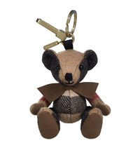 Burberry Shoes And Accessories Thomas Check Bear Charm Female Brown