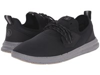 Volcom Draft Black Charcoal Men's Lace Up Casual Shoes