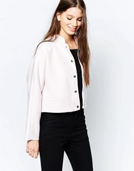 Finders Keepers Space And Time Bomber Jacket Shrinking Violet Purple