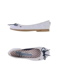 Tommy Hilfiger Denim Ballet Flats Light Grey