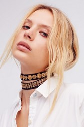 Free People Womens Elsa Double Choker
