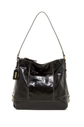 Tignanello Soho Vintage Leather Hobo Black