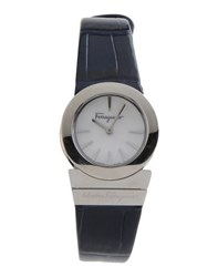 Salvatore Ferragamo Timepieces Wrist Watches Women Dark Blue