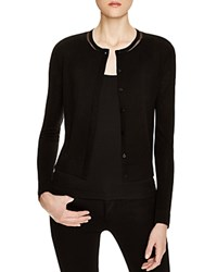 Magaschoni Fitted Cardigan Black
