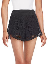 Romeo And Juliet Couture Lace Shorts Black