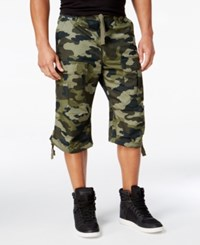 Sean John Men's Camouflage Flight Shorts
