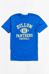 Urban Outfitters Friday Night Lights Dillon Panthers Tee Blue