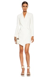 Haute Hippie Tux Poly Blend Dress In White