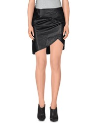 Odi Et Amo Skirts Knee Length Skirts Women Black