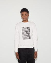 Julien David French Terry Sweatshirt White
