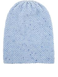 The Elder Statesman Women's Cashmere 'Summer' Beanie Blue